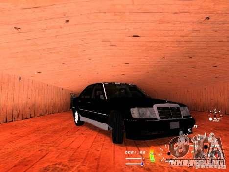 Mercedes-Benz 230E para GTA San Andreas left