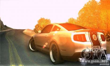 Real HQ Roads para GTA San Andreas tercera pantalla