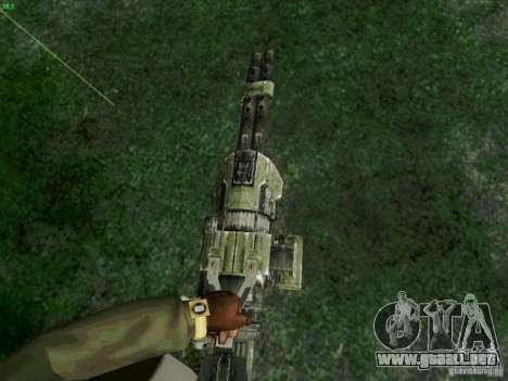 Ametralladora de Duke Nukem Forever para GTA San Andreas segunda pantalla