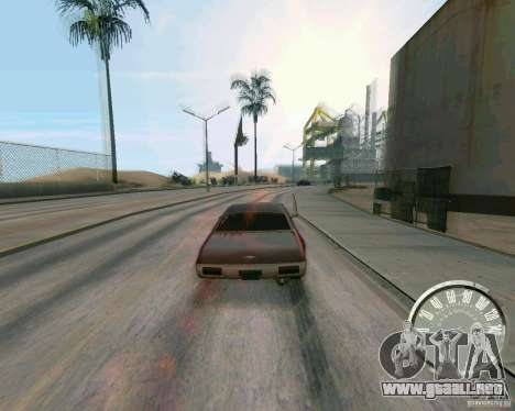 Velocímetro Mustang clásico para GTA San Andreas