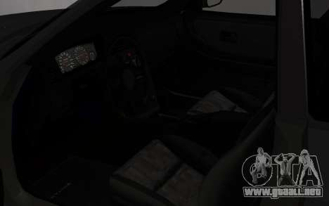 Nissan Skyline GTS25T (R33) para GTA San Andreas vista hacia atrás