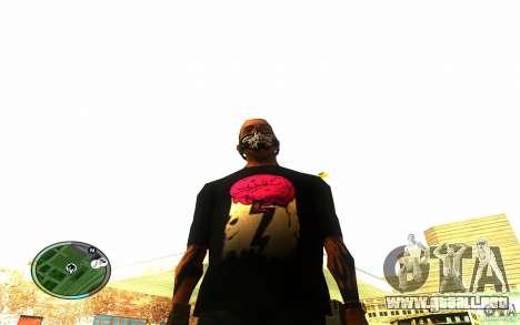 Skull Mask para GTA San Andreas tercera pantalla