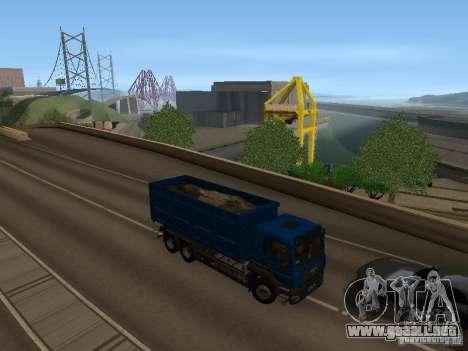 MAN TGA 28 430 PALIFT para GTA San Andreas vista hacia atrás