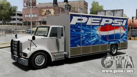 El nuevo anuncio para el carro de Benson para GTA 4 tercera pantalla