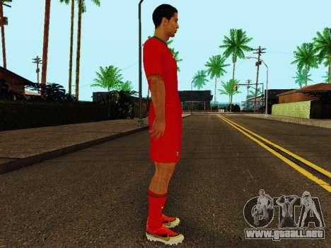 Cristiano Ronaldo v4 para GTA San Andreas segunda pantalla