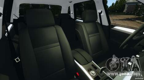 BMW X1 para GTA 4 vista interior