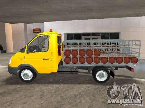 GAZ 3302 Balonovoz para GTA San Andreas left