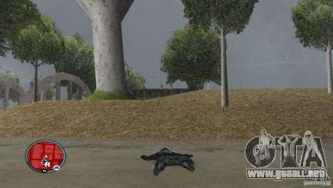 GTAIV HUD para una amplia pantalla (16: 9) v2 para GTA San Andreas tercera pantalla