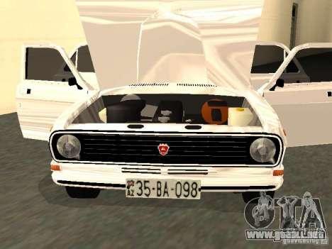 GAZ 24-10 para GTA San Andreas vista hacia atrás