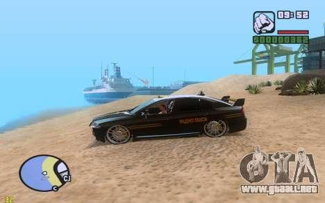 ENBSeries By VadimSpiridonov v.0.2 para GTA San Andreas sucesivamente de pantalla