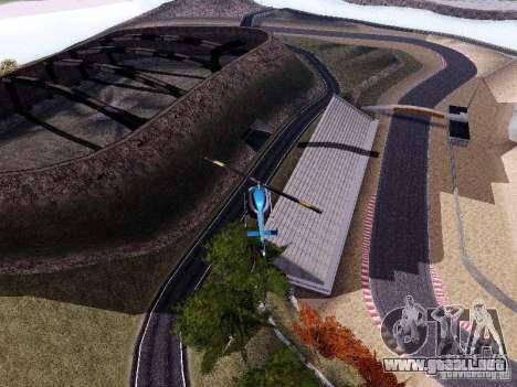 Laguna Seca Raceway para GTA San Andreas sucesivamente de pantalla