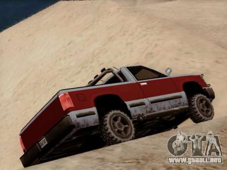 Yosemite Custom para la visión correcta GTA San Andreas
