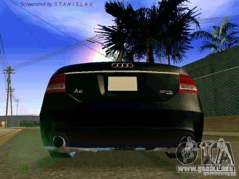Audi A6 para vista lateral GTA San Andreas