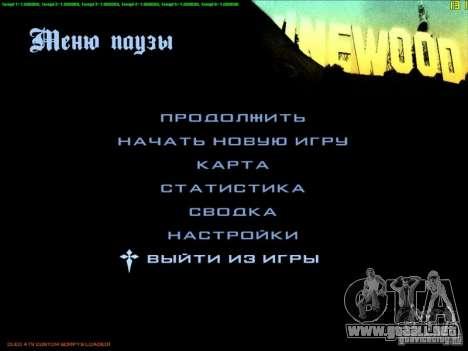 FPS De-Limiter CLEO para GTA San Andreas quinta pantalla