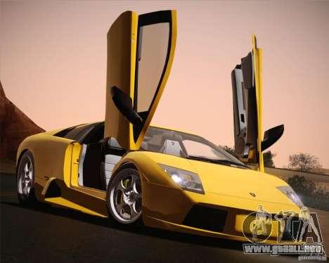 Lamborghini Murcielago 2002 v 1.0 para la vista superior GTA San Andreas
