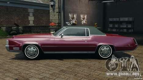 Cadillac Eldorado 1968 para GTA 4 left