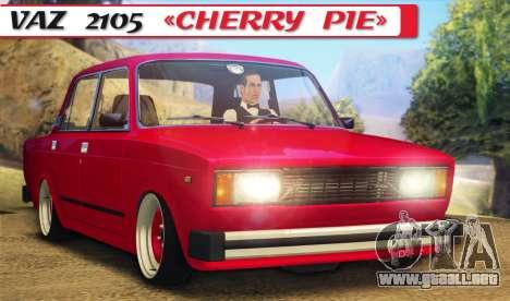 VAZ 2105 pastel de cereza para GTA San Andreas