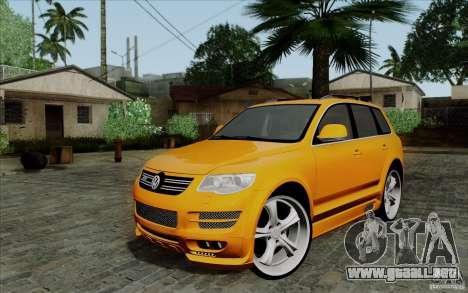 Volkswagen Touareg R50 Light para GTA San Andreas