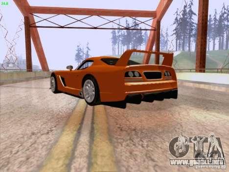 Dodge Viper GTS-R Concept para la visión correcta GTA San Andreas