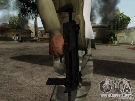 MP7 para GTA San Andreas tercera pantalla