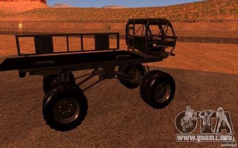 Heist Truck para la visión correcta GTA San Andreas