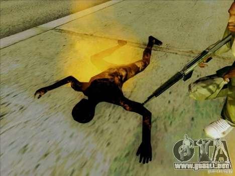 Cuerpos calcinados para GTA San Andreas