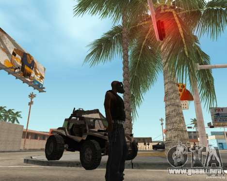 Robber para GTA San Andreas segunda pantalla