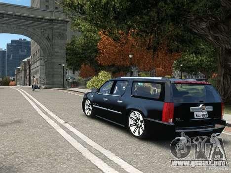 Cadillac Escalade ESV 2012 DUB para GTA 4 visión correcta