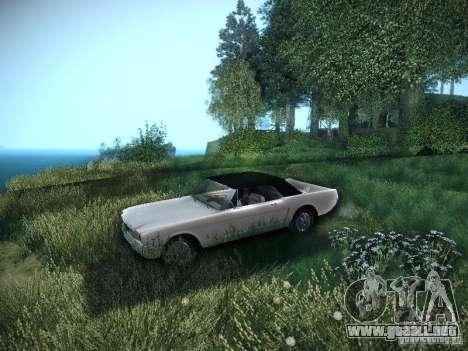 Ford Mustang Convertible 1964 para la visión correcta GTA San Andreas