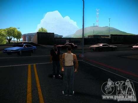 Cambiar los caracteres para GTA San Andreas tercera pantalla