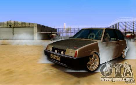 ENBSeries By Eralhan para GTA San Andreas tercera pantalla
