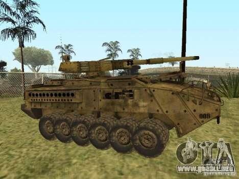 BMTV M1128 MGS para GTA San Andreas left