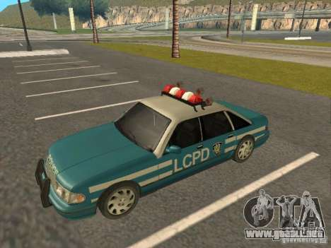 HD Police from GTA 3 para la visión correcta GTA San Andreas
