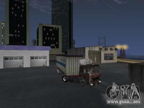 Remolque Schmitz para la visión correcta GTA San Andreas