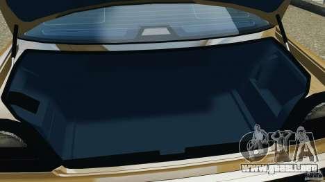 BMW 750iL E38 1998 para GTA 4 vista desde abajo