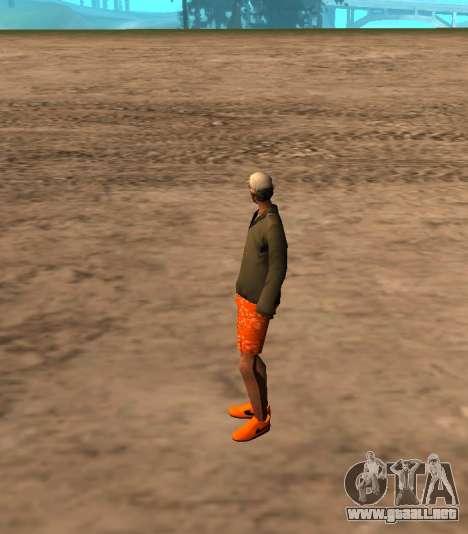 Skin id 212 para GTA San Andreas segunda pantalla