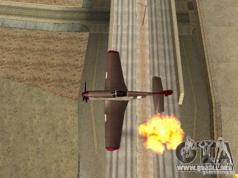Air Strike para GTA San Andreas segunda pantalla