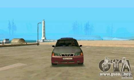 Daewoo Nexia Tuning para la visión correcta GTA San Andreas