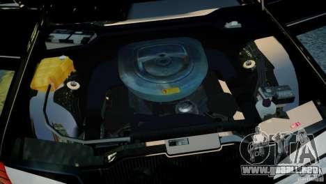 Mercedes-Benz 560 SEL Black Edition para GTA 4 visión correcta