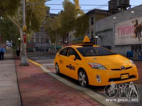 Toyota Prius NYC Taxi 2013 para GTA 4