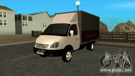 GAZ 3302 gacela para GTA San Andreas