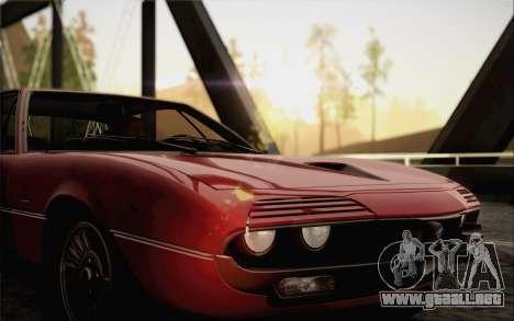 Alfa Romeo Montreal 1970 para la visión correcta GTA San Andreas