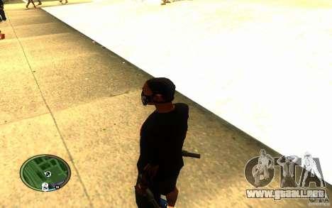 Skull Mask para GTA San Andreas sucesivamente de pantalla