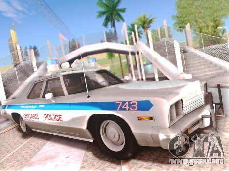 Dodge Monaco 1974 para GTA San Andreas interior