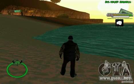 Bomje & Gop para GTA San Andreas sucesivamente de pantalla