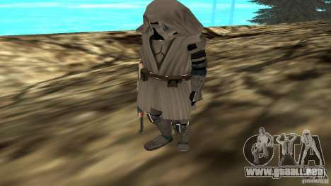 Commander Keller para GTA San Andreas