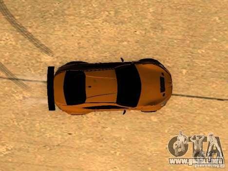 Toyota FT86 Rocket Bunny V2 para la vista superior GTA San Andreas