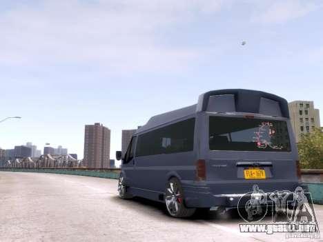 Ford Transit Sport Edition RV 2013 para GTA 4 visión correcta