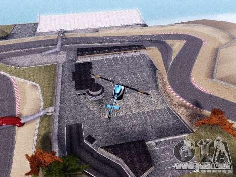 Laguna Seca Raceway para GTA San Andreas segunda pantalla