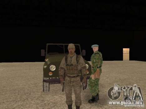 Piel de un soldado soviético para GTA San Andreas sexta pantalla